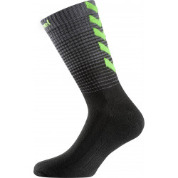 chaussettes hummel noir vert