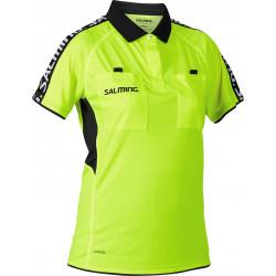 maillot arbitre handball femme jaune fluo