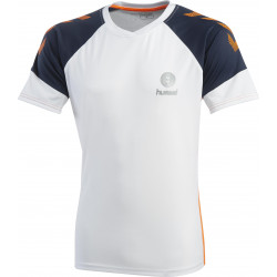 maillot-hummel-blanc-bleu-orange
