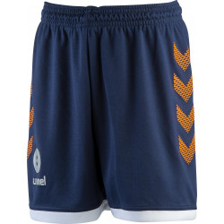 short hummel marine orange blanc