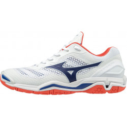 Mizuno Wave Stealth 5 Blanc