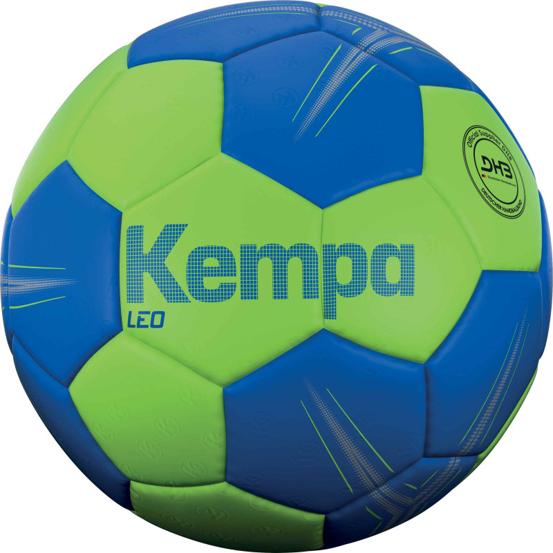 Ballon kempa leo vert bleu