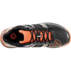 Kempa Attack Three Contender Noir Orange