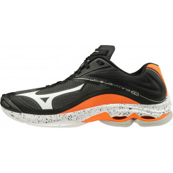 Mizuno Wave Lightning Z6 Noir Orange
