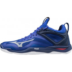 Mizuno Wave Mirage 3 Bleu Blanc Rose