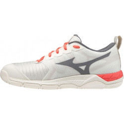 Mizuno Wave Supersonic 2 Blanc Gris Rose