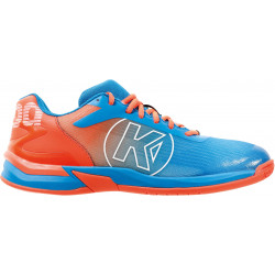 Kempa Attack Three 2.0 Bleu Orange fluo