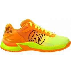 Kempa Attack 2.0 Enfant Orange Fluo Jaune Fluo