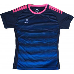 Maillot Select Zebra bleu rose Femme