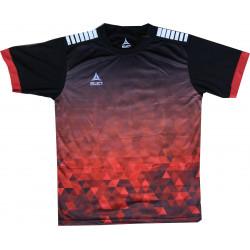 Maillot Select Fusion Rouge Noir
