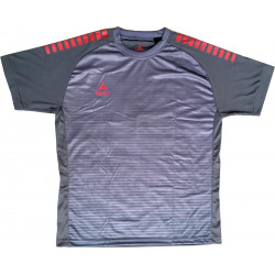 Maillot Select Zebra gris rouge