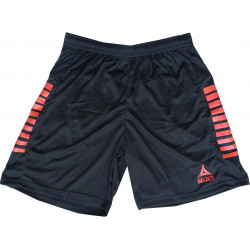 Short Select Zebra Noir Rouge