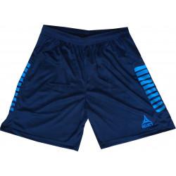 Short Select Zebra Bleu Turquoise