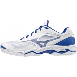 Mizuno Wave Phantom 2 Blanc Bleu