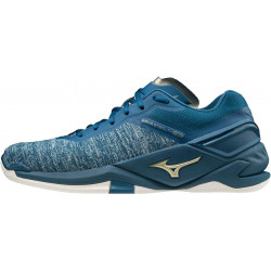 Mizuno Wave Stealth Neo Bleu Or