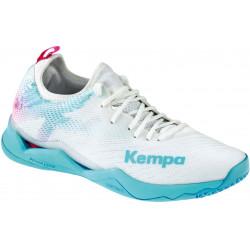 Kempa Wing Lite 2 Blanc Turquoise