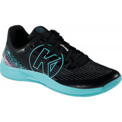 Kempa Attack Two Noir Turquoise