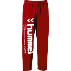Pantalon Jogging Hummel Rouge Blanc