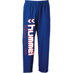 Pantalon Jogging Hummel Bleu Blanc